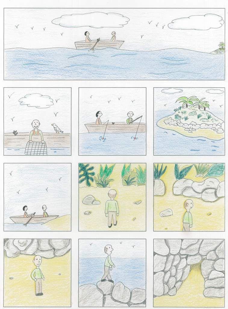 Planches des lauréats du Concours BD d'Angoulême 2017 épisode III