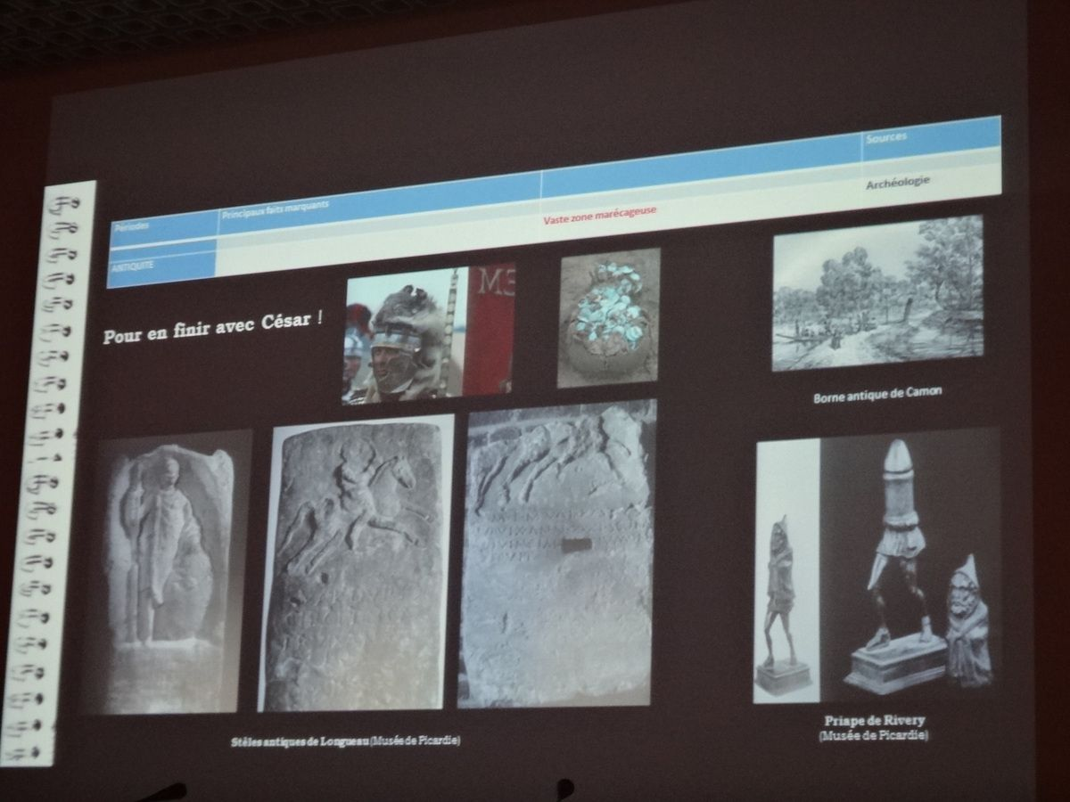 Quelques images de la conférence (photos Bruno Bréart)