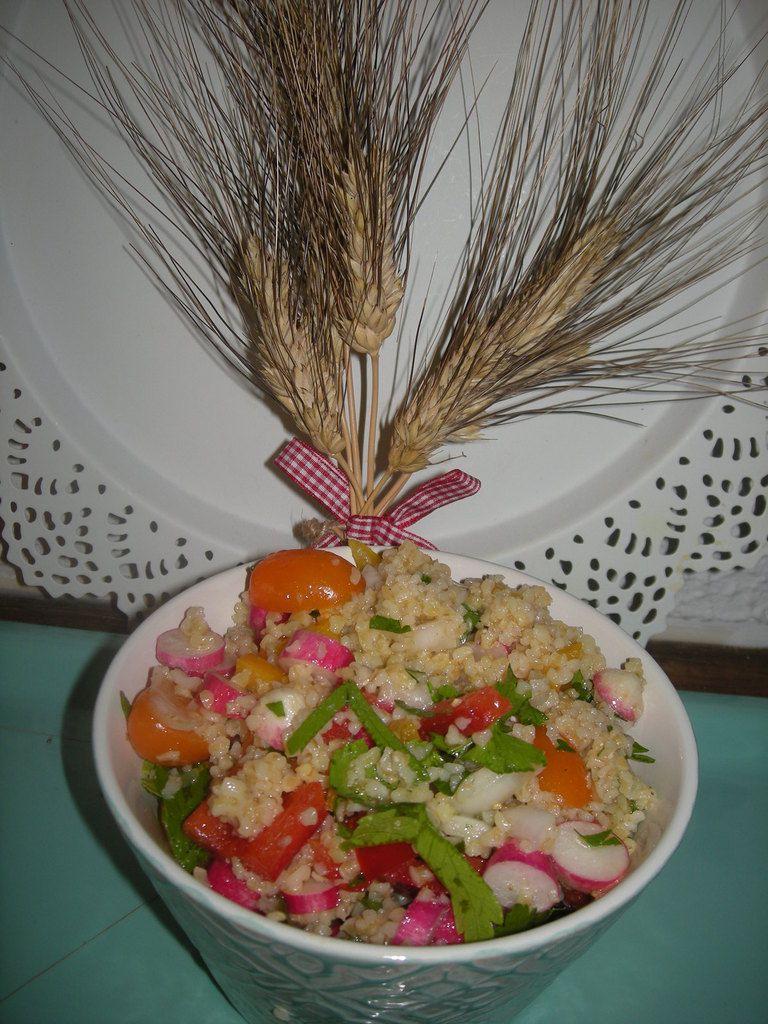 Salade de Boulghour .