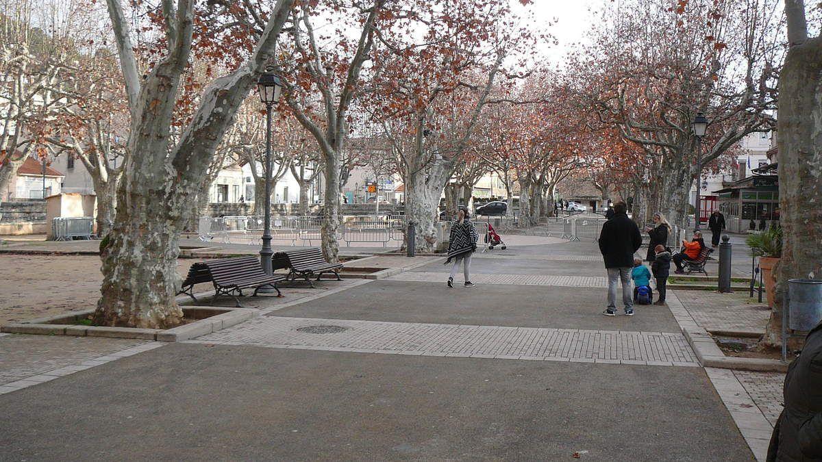 Par une belle matinée d'hiver Transhumance à Auriol.