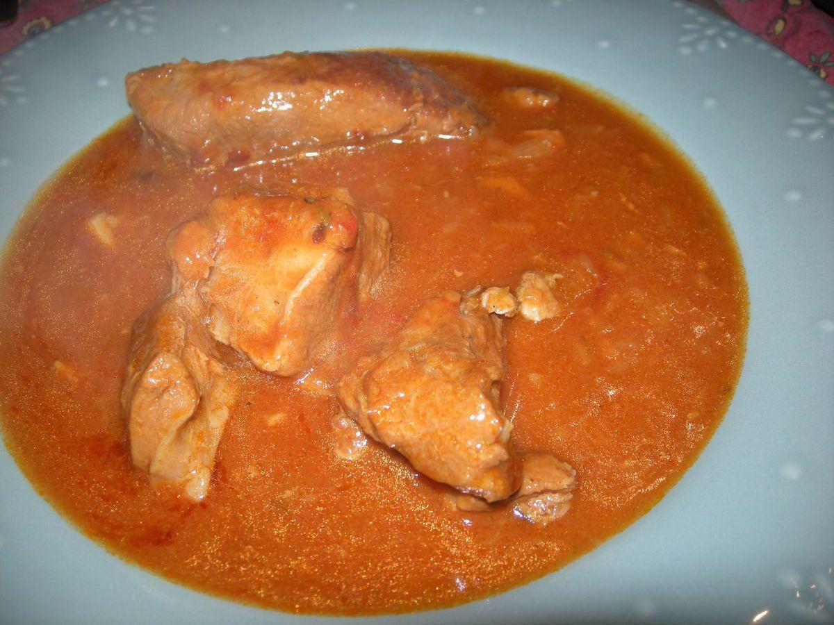 Sauté de veau au Paprika.