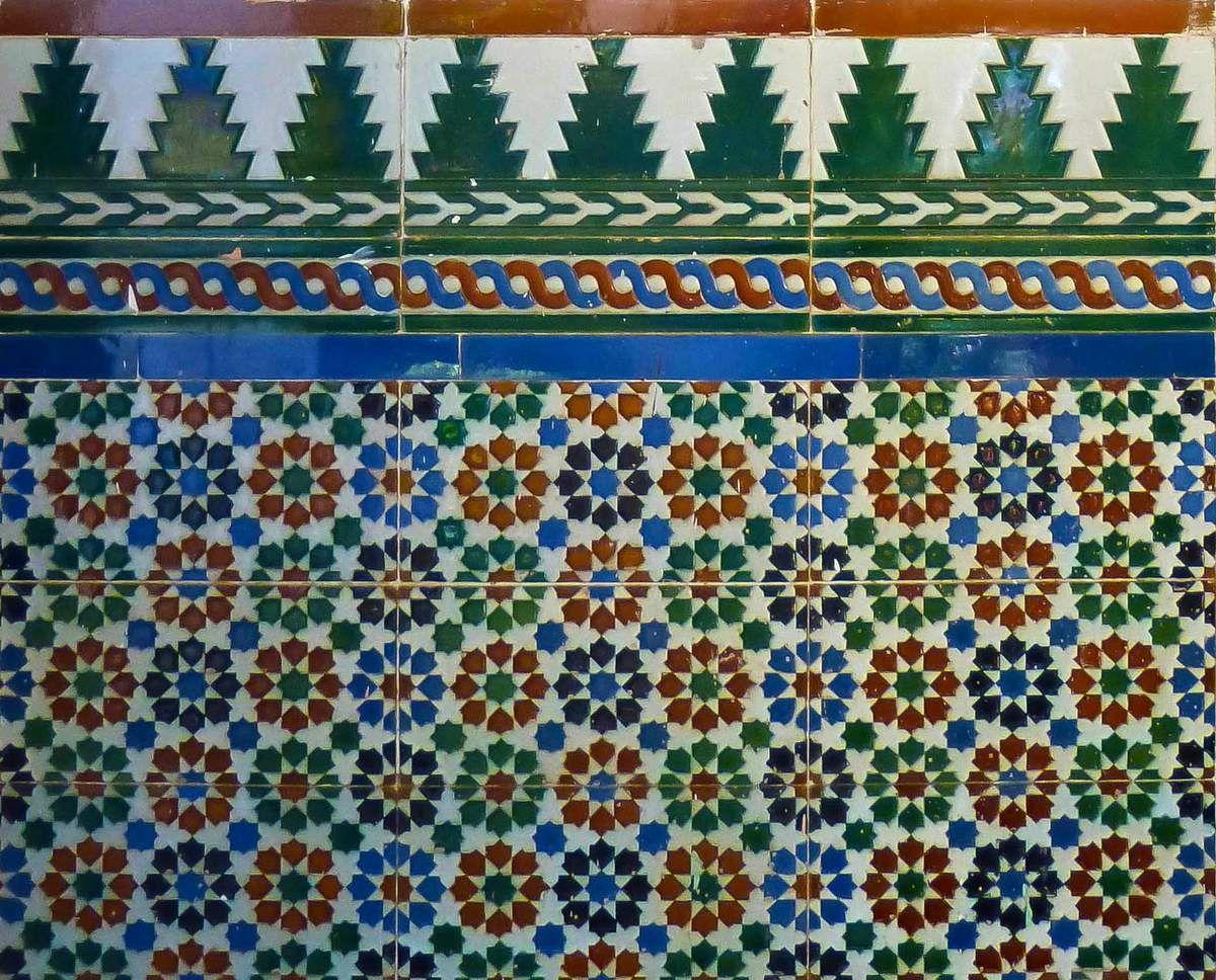 Azulejos d'une maison du Vedado - La Havane
