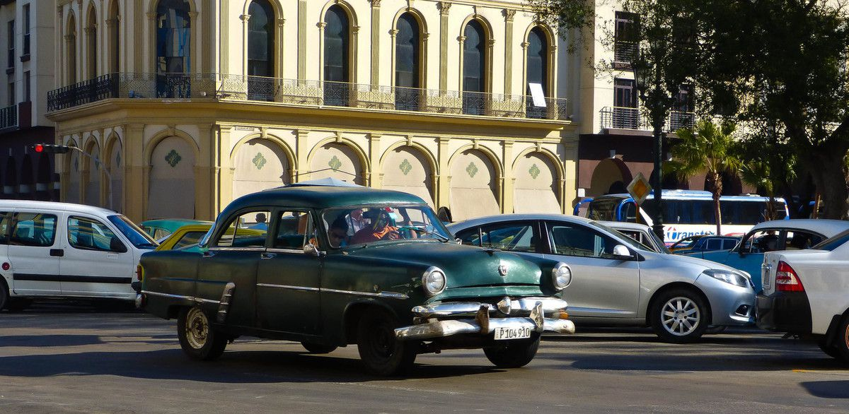Parque Central à La Havane