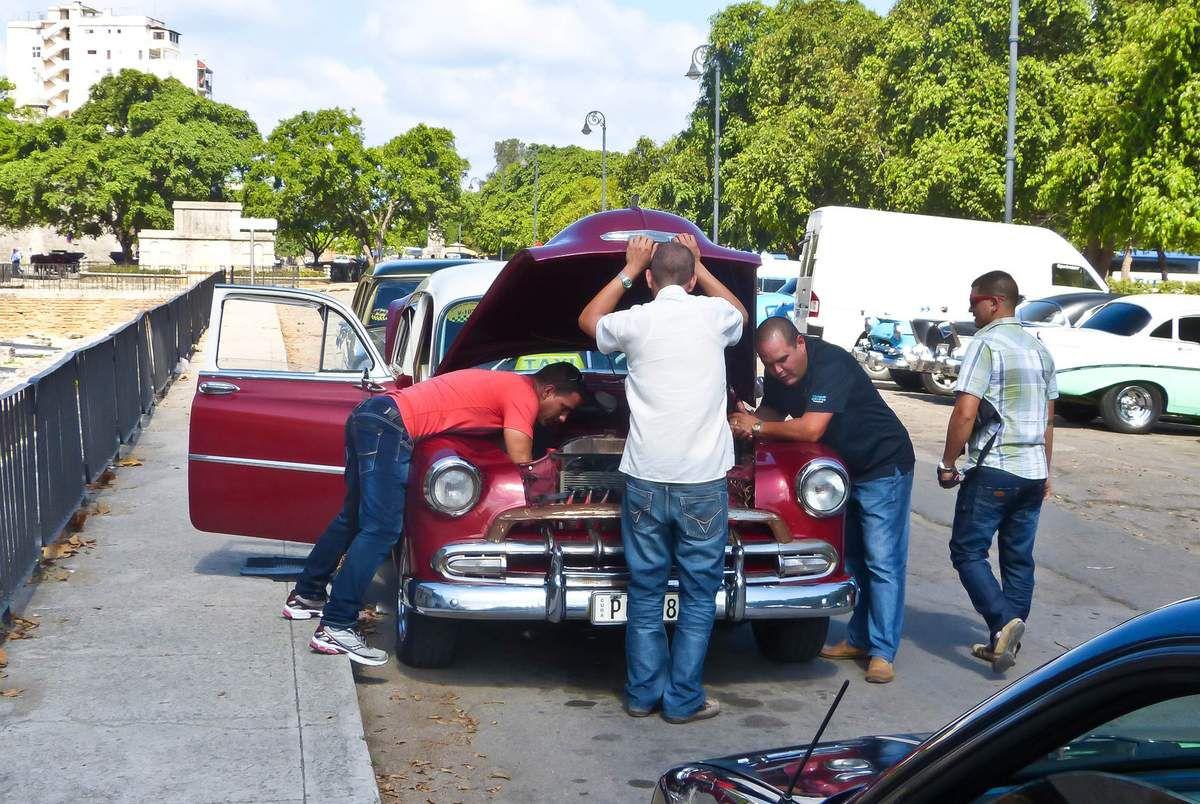 Les &quot&#x3B;américaines&quot&#x3B; de Cuba