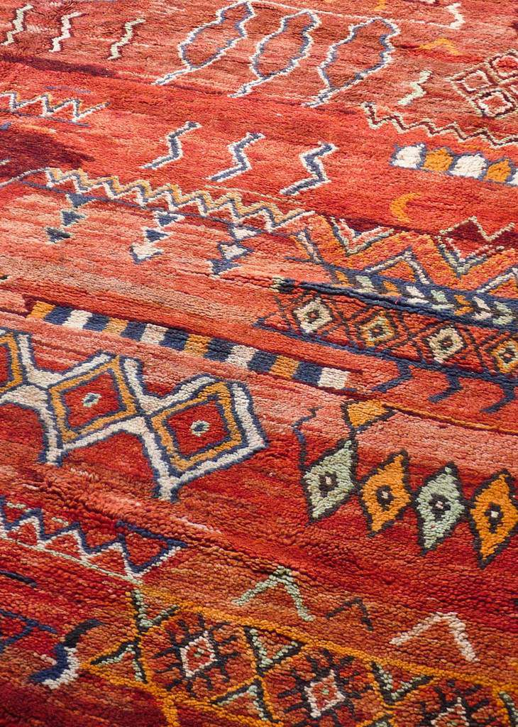 Devinette du samedi 16 juillet 2016 - Suite - Tapis berbères du Maroc