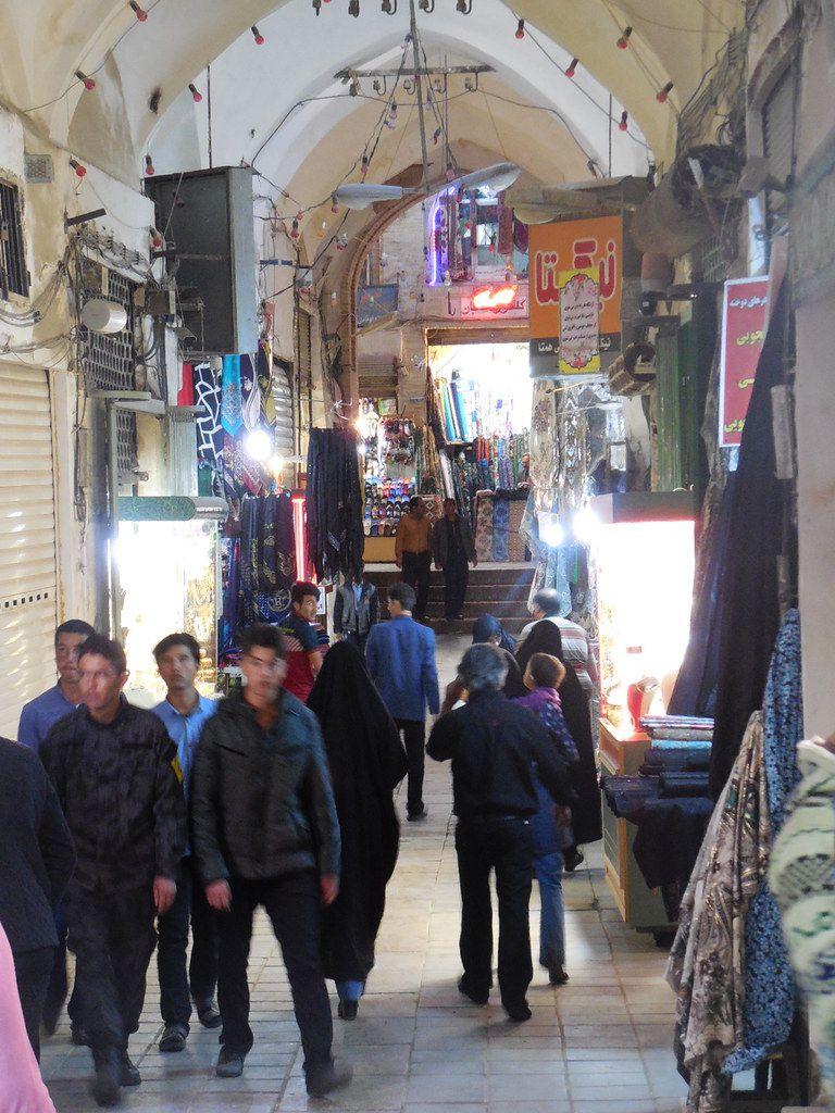le bazar de Kachan
