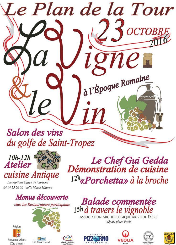 Fête de la Vigne et du Vin à l'Epoque Romaine