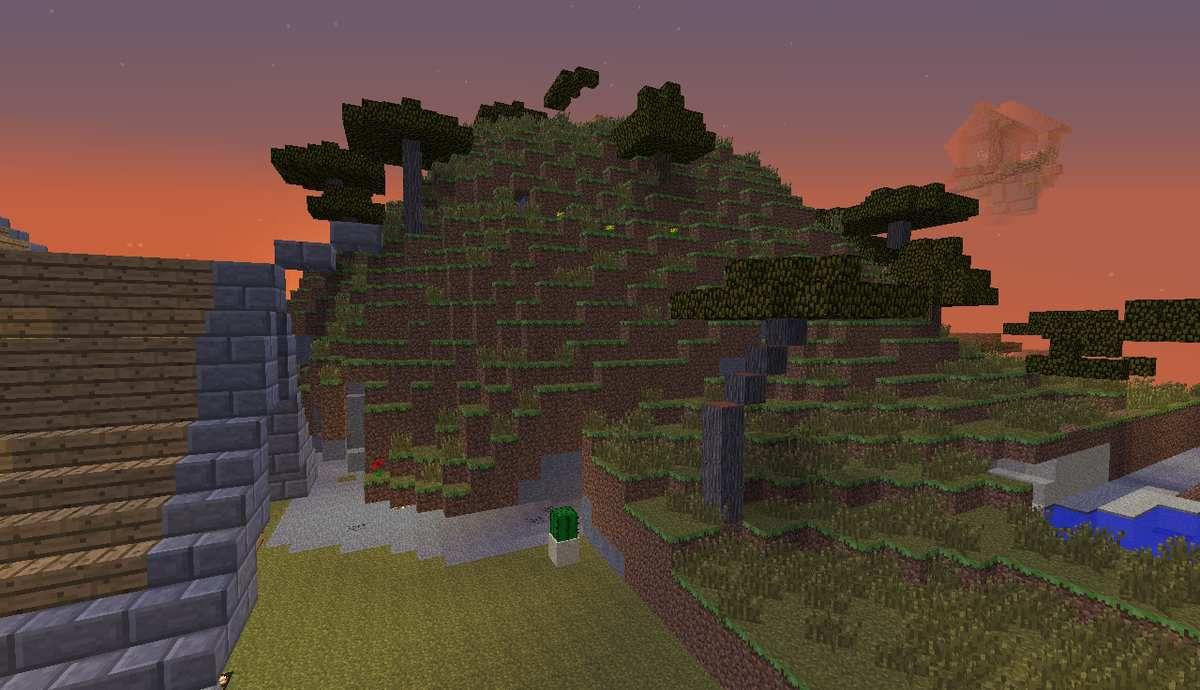 et toute la montagne a terraformer