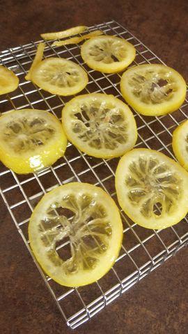 Citrons confits au sucre (express)