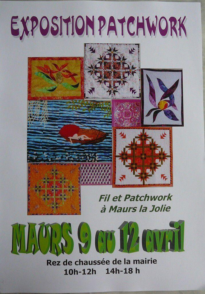 Expo patchwork en Auvergne ..