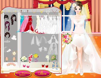 Games cinderella wedding dress up girlsgogames for Wedding dress games online