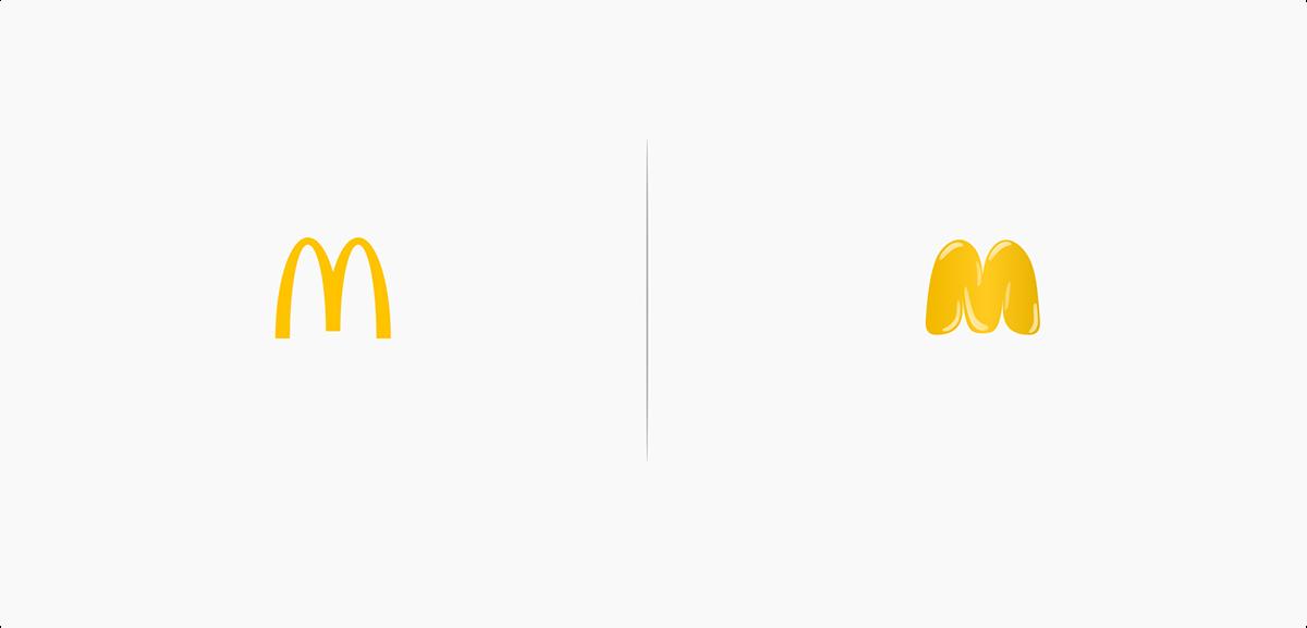 10 logos qui subissent l'effet des produits qu'ils vendent ...