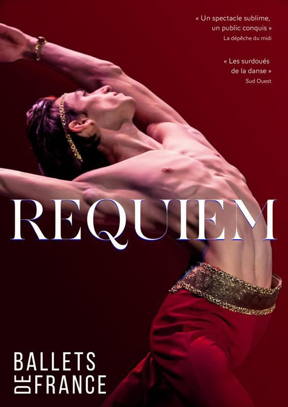 REQUIEM...par LES BALLETS DE FRANCE...à ABBEVILLE...