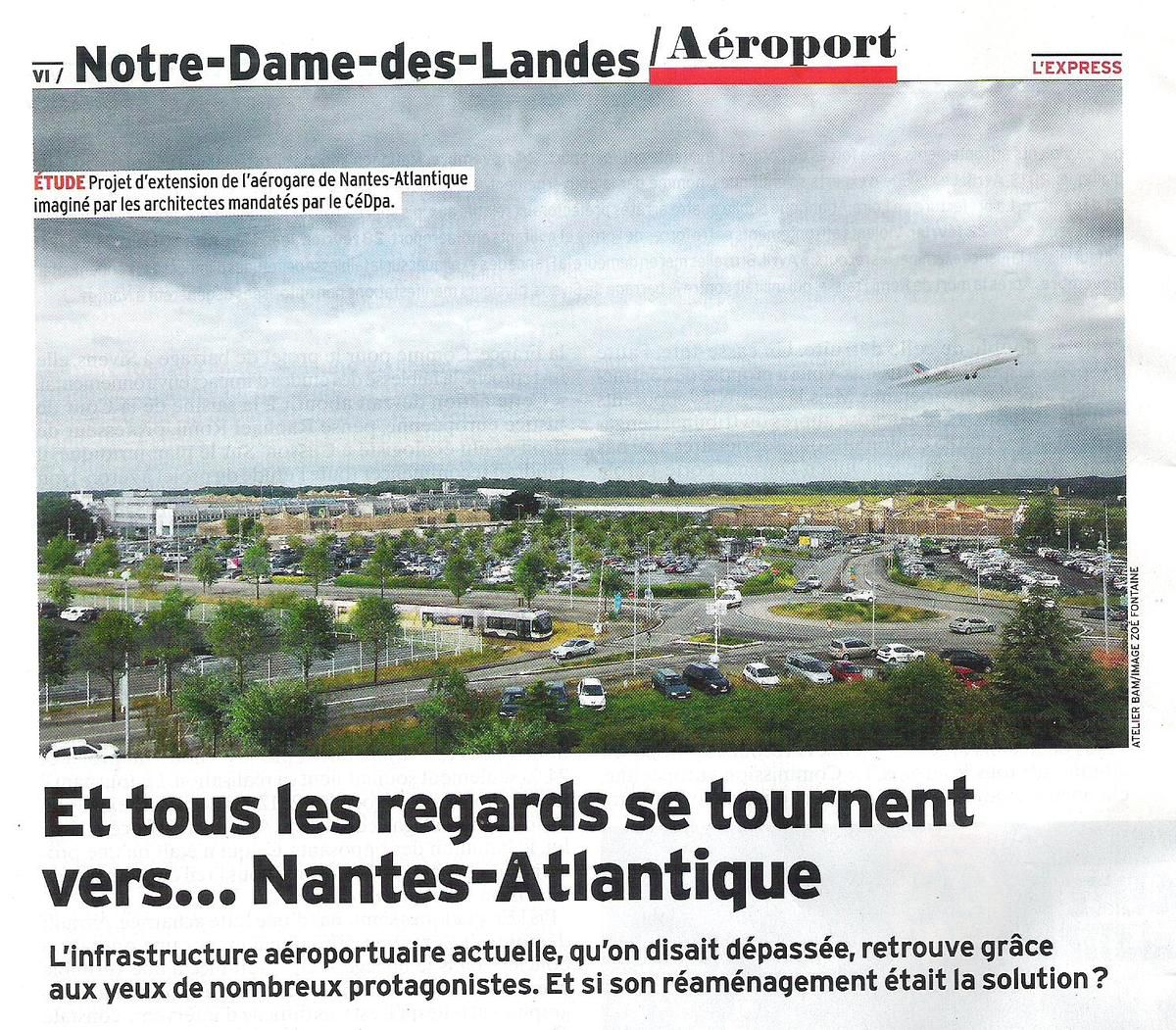 Nantes Atlantique remis en orbite (L'Express)