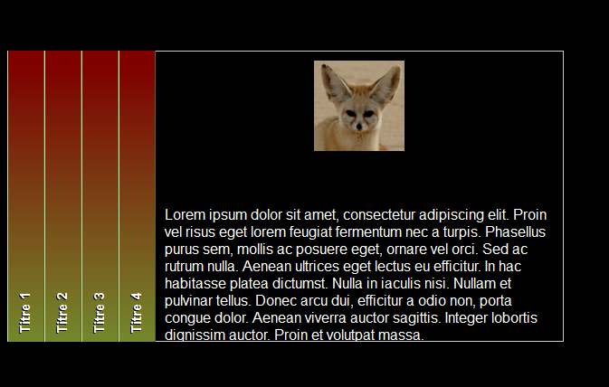 Web accordions vertical & horizontal - Visual Foxpro codes