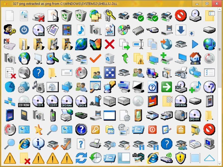 extract icons from exe applications or dllsgdiplusx