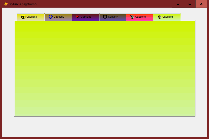 Playing with vfp pageframes and subclassing