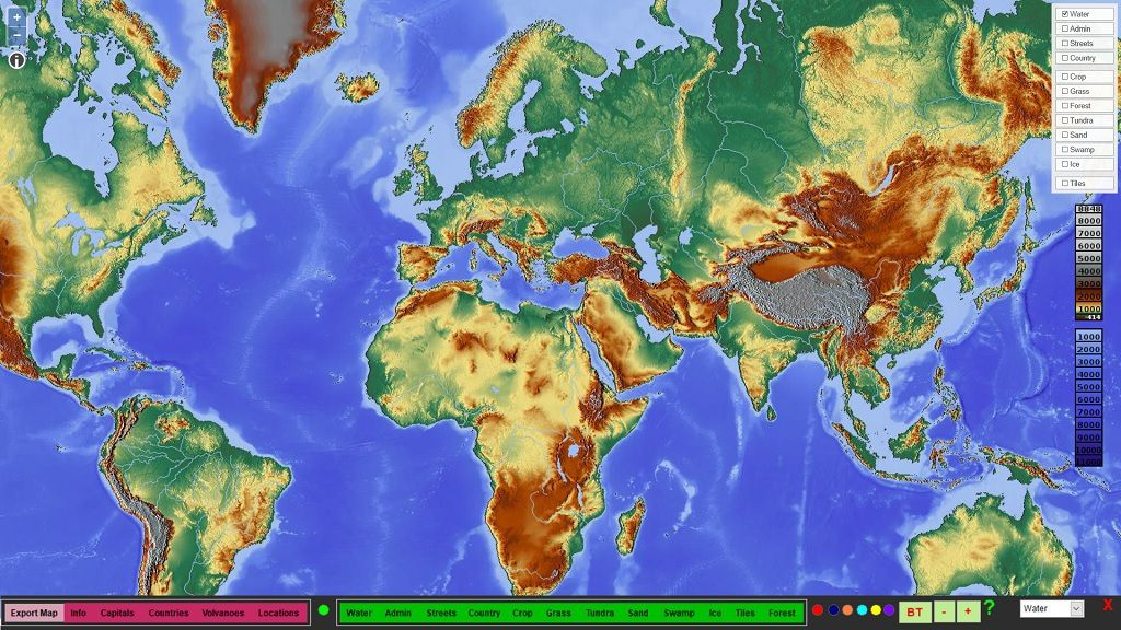 Dynamic web world maps drived from vfp visual foxpro codes dynamic web world maps gumiabroncs Image collections