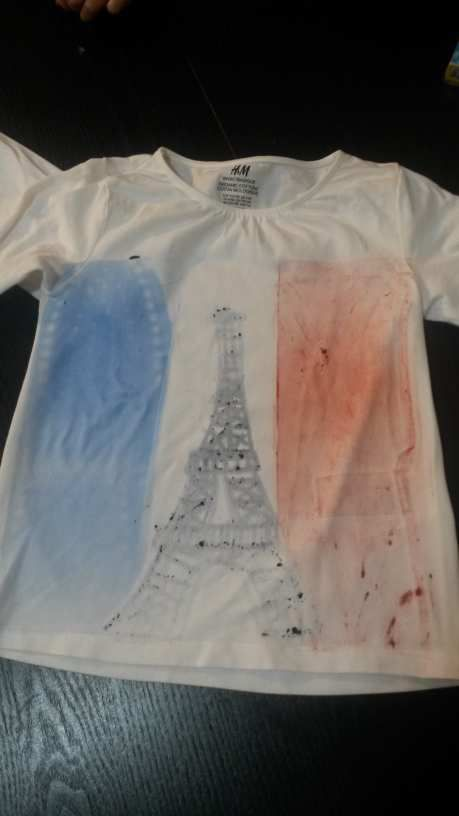 Tee shirt France second try