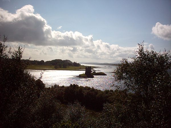 Port Appin, castle Stalker, 29.08.05
