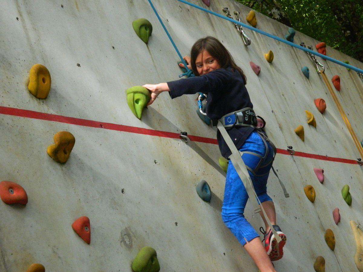 Mini Camp - Tir à l'arc pour les uns et escalade pour les autres