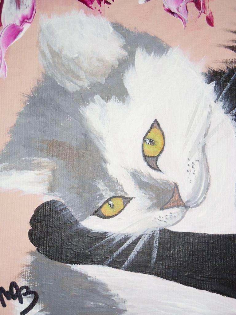 Tableau animaux &quot&#x3B;Lilou et Nenka&quot&#x3B;