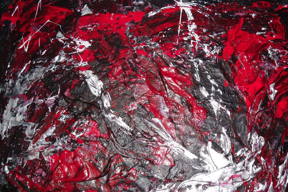 Tableau abstrait &quot&#x3B;Fusion&quot&#x3B;