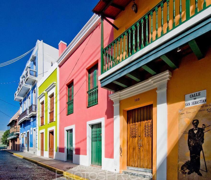Tableau contemporain &quot&#x3B;Puerto Rico&quot&#x3B;