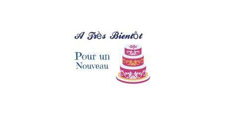 Wedding Cake &quot&#x3B;Venise&quot&#x3B; en Pâte à Sucre