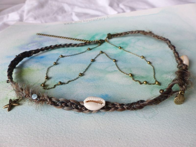 [Headband] Become a mermaid {Collection hair enchantment}