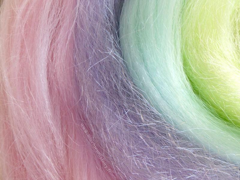 La mèche de cheveux &quot&#x3B;Petit poney&quot&#x3B; clipable