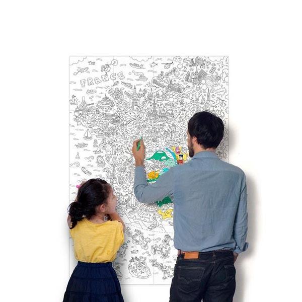 La carte du monde, une invitation aux voyages...