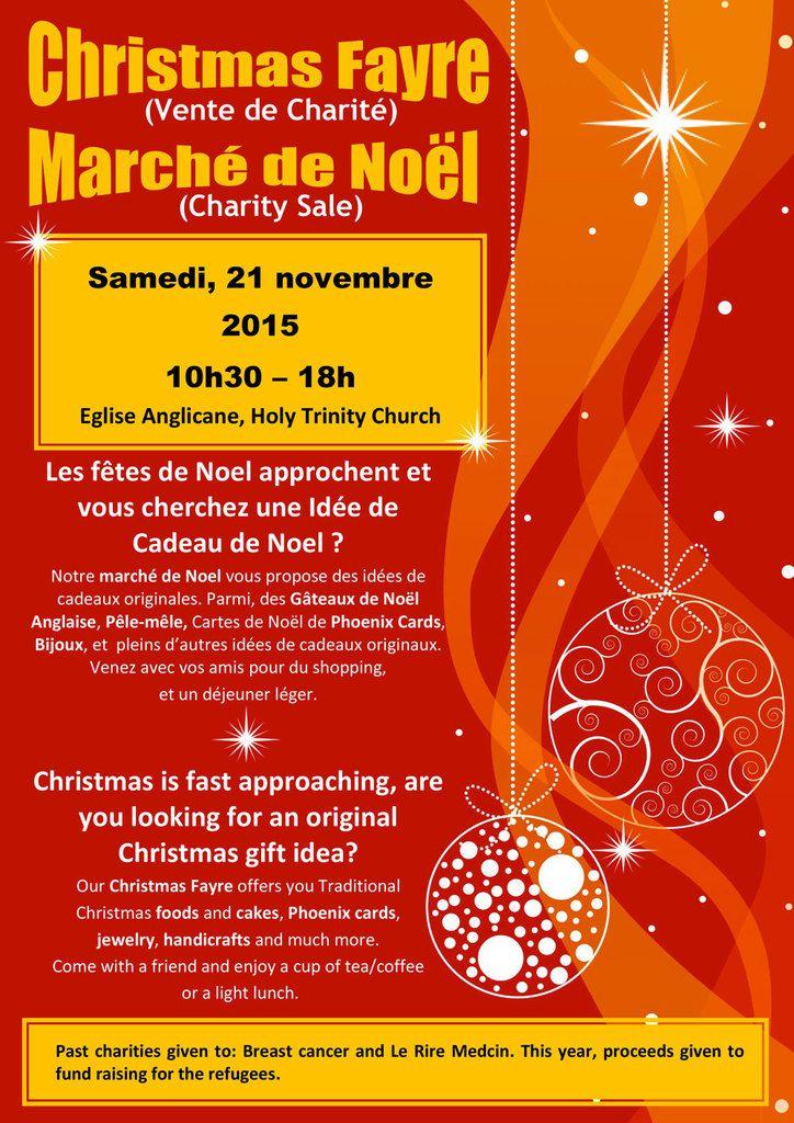 Vente de noel l 39 glise anglicane de maisons laffitte - Vente de cadeaux de noel ...