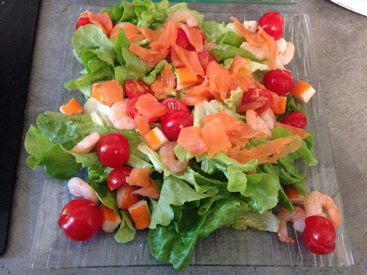 Salade océane surimi