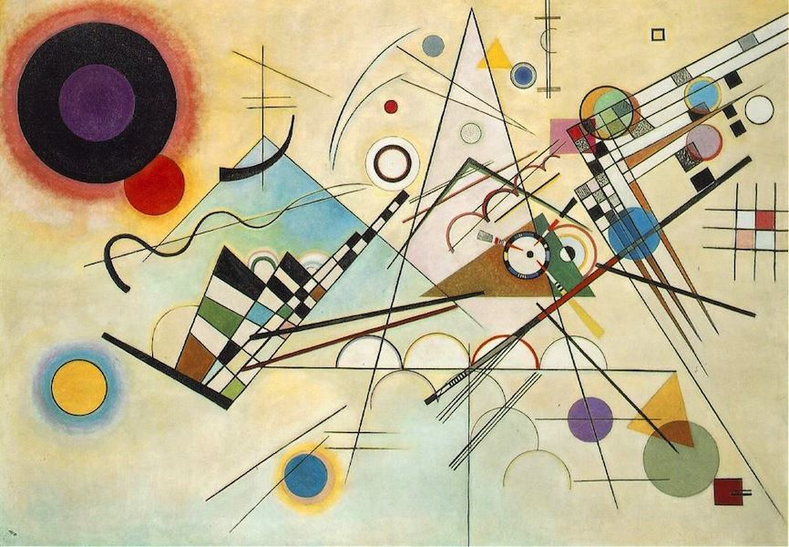 Wassily Kandinsky - Composition n°8