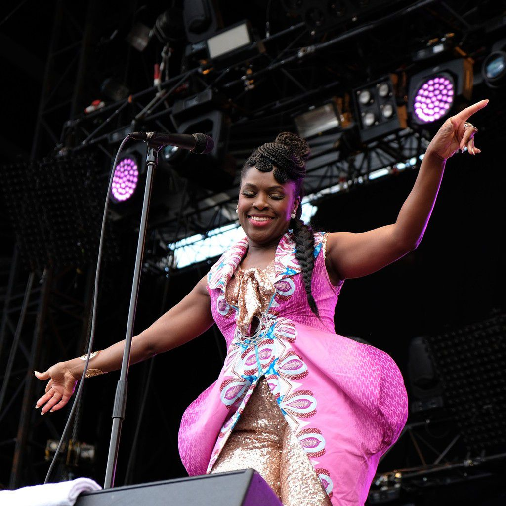 Ibibio Sound Machine (photo Jacqueline Ledoux)