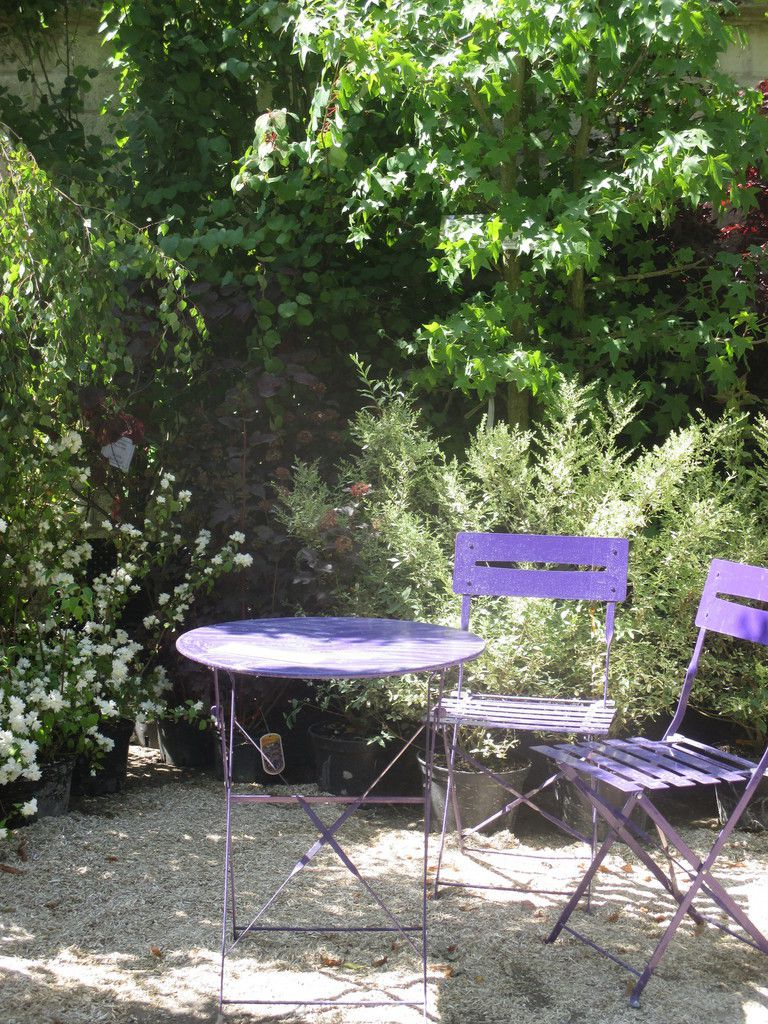 Week-end au jardin