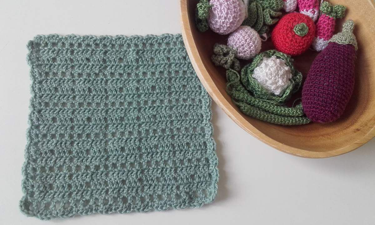 Crochet : potholder