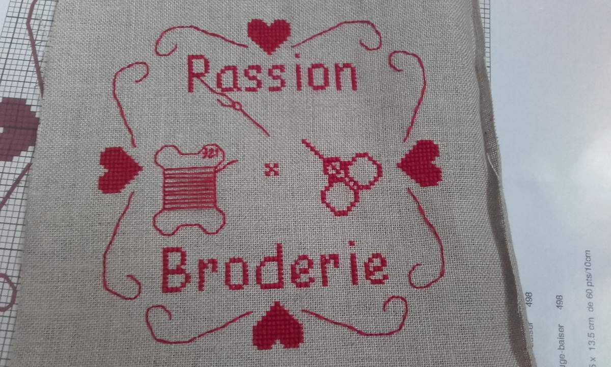 Broderie broderie