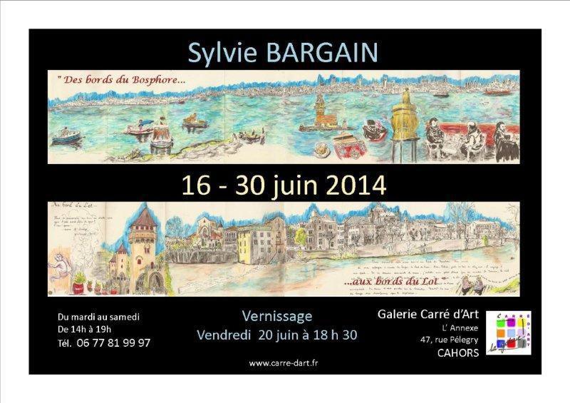 """16 au 30 juin 2014 - Cahors Galerie """"carré d'art"""""""