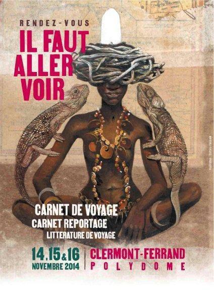 14 au 16 novembre 2014 - Clermont Ferrand - 15° rendez vous du carnet de voyage