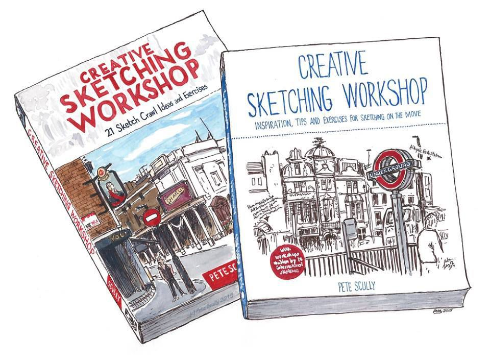 Creative sketching workshop By Pete Scully