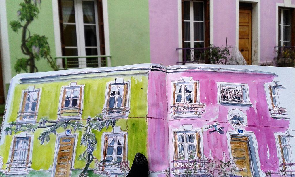 Paris... Ici et Ailleurs 7 - La rue Crémieux