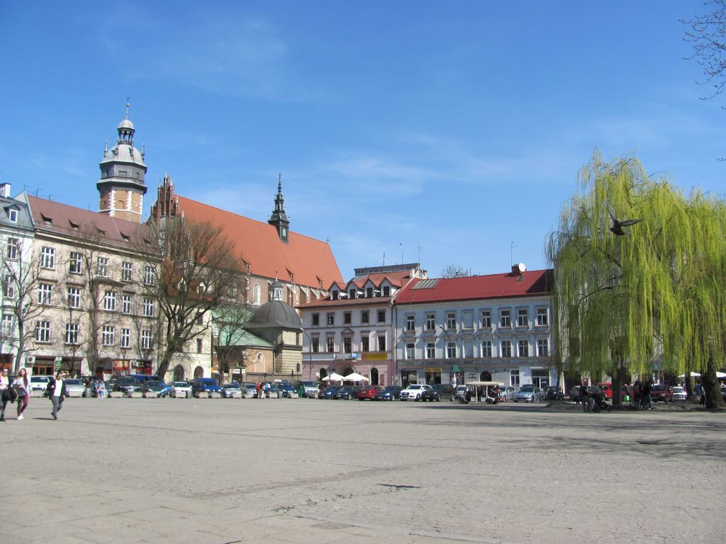 Cracovie, place Wolnica