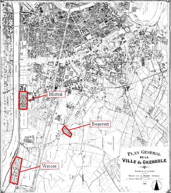 Cité BEAUVERT : ancienne cité Viscose de Grenoble