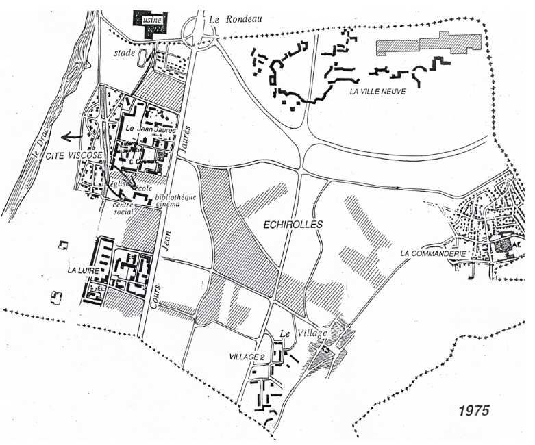 Echirolles  - Cité Viscose (1/2) : une cité jardin ouvrière