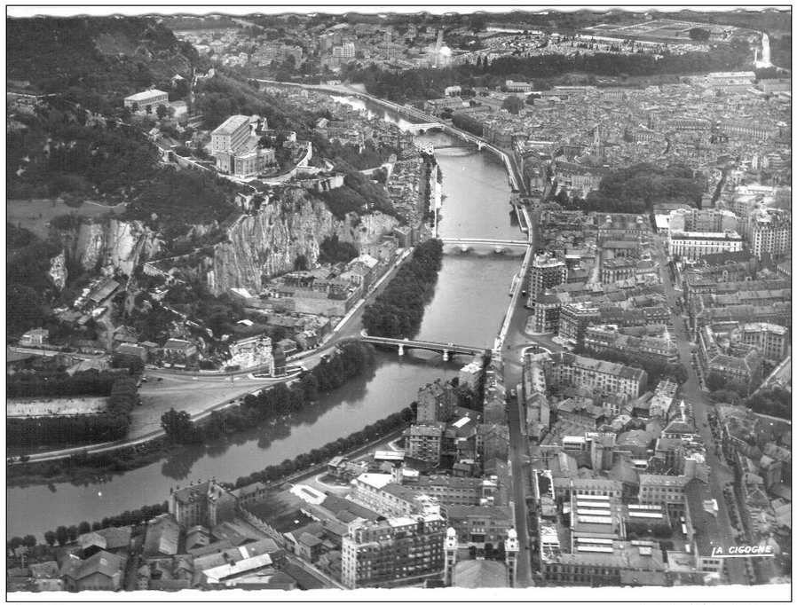 Histoire Du Centre De Grenoble  Des Enceintes Militaires
