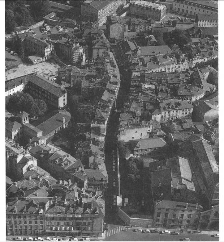 1970 : vue général du quartier très-Cloitre