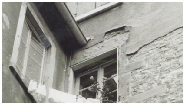 1970: avant rénovation. Il y avait plus besoin qu'un simple ravalement de façade
