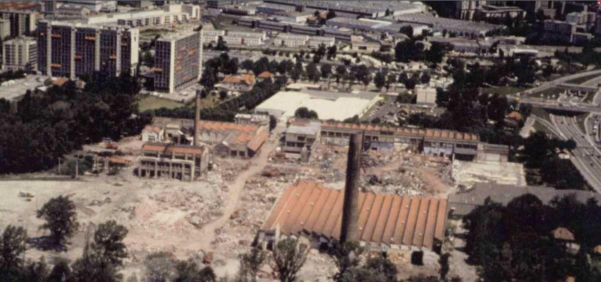 La destruction de la Viscose